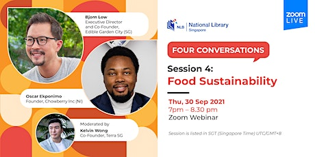 Session 4: Food Sustainability | Four Conversations tickets