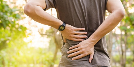 Safe and Effective Ways to Manage Low Back Pain & Sciatica tickets