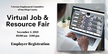 SDVEC Virtual Job & Resource Fair - Employer/Provider Registration 2021 tickets