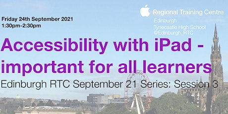 Accessibility with iPad - important for all learners tickets