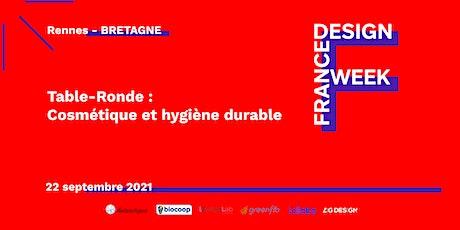 Table-Ronde « Cosmétique et hygiène durable » billets