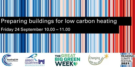 Preparing Buildings for Low Carbon Heating tickets