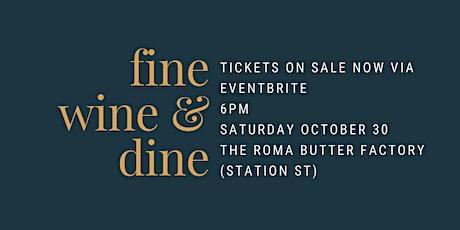 Apex Club of Roma Fine Wine & Dine 2021 tickets