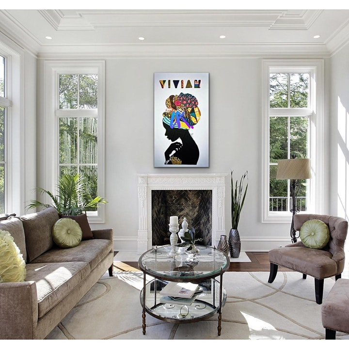 Vic Art Empire presents the 'Blaq Arts Exhibition' image