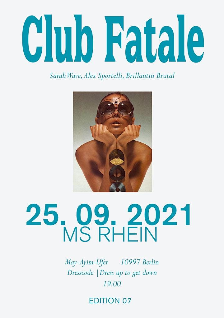CLUB FATALE CRUISE   EDITION 07: Bild