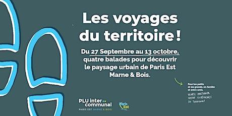 LES VOYAGES DU TERRITOIRE // N°1 : CAP À L'EST ! billets