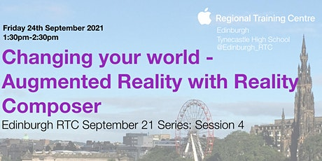 Changing your world - Augmented Reality with Reality Composer tickets
