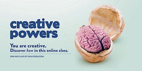 Creative Powers tickets