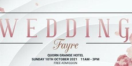 Quorn Grange Hotel Wedding Fayre tickets