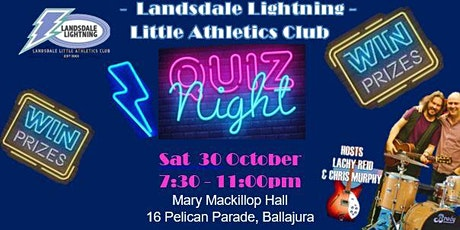 Landsdale Little Athletics - Quiz Night Fundraiser tickets