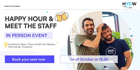 Happy Hour & Meet the staff tickets