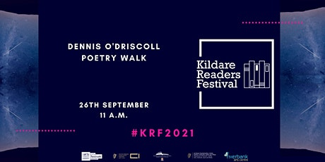 Kildare Readers Festival: Outnumbered Poet - Annual Dennis O'Driscoll Walk tickets