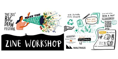 The Big Draw  Festival 2021 Online  Zine Workshop tickets