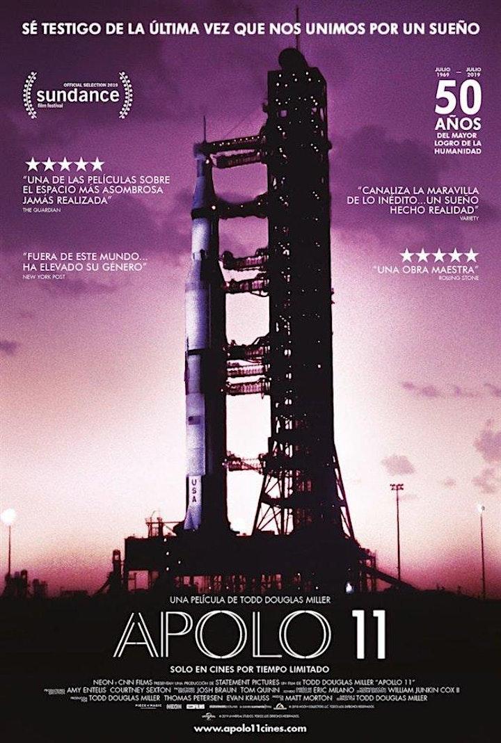 "Imagen de Projecció de ""APOLO 11"" - En col.laboració amb 'Science needs you'"