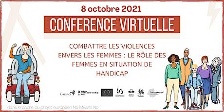 Combattre les violences envers les femmes en situation de handicap billets