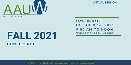 AAUW OHIO - FALL 2021 Conference tickets