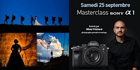 Masterclass Sony A1 par Olivier Fréchard, photographe mariages et portraits billets