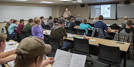 Basic Pistol Training tickets