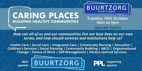 Caring Places: Building Healthy Communities - ONLINE EVENT tickets