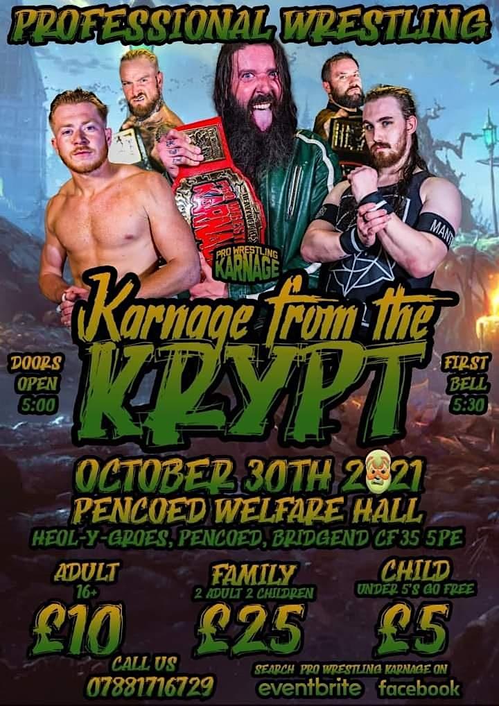 Pro Wrestling Karnage - Karnage from the Krypt image