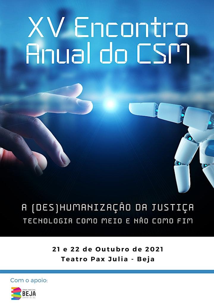 imagem XIV Encontro Anual do CSM - A (Des)Humanização da Justiça