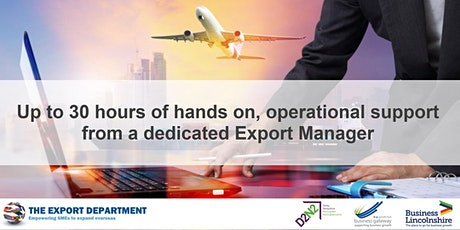 21st Sept - 'Export Manager Programme' 1:1 tickets