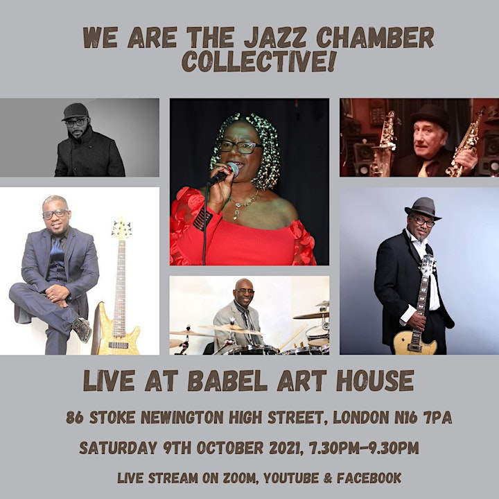 """The Jazz Chamber Presents """"The Gospel According to Jazz @ Babel Art House"""" image"""