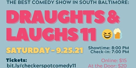 Draughts & Laughs11 at Checkerspot Brewing Co. headliner Rob Maher tickets