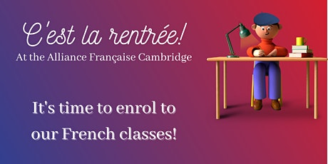 Enrolment French classes tickets