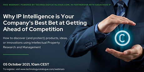 IP Intelligence is Your Company's Best Bet at Getting Ahead of Competition tickets