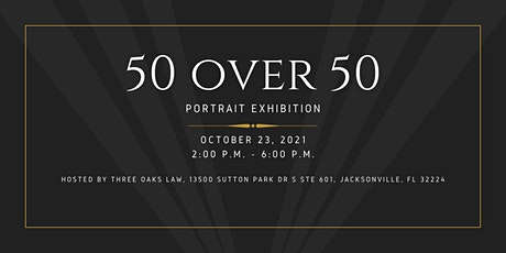 50 over 50 Celebration and Portrait Exhibition tickets