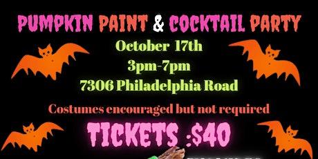 Pumpkin Paint & Cocktail Party tickets