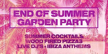 End Of Summer Garden Party tickets