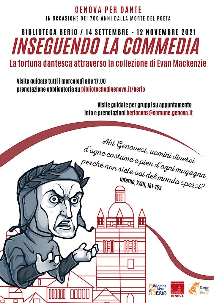 Immagine LA FORTUNA DANTESCA ATTRAVERSO LA COLLEZIONE DI EVAN MACKENZIE