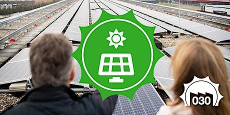 Meer mogelijkheden voor zon op bedrijfsdaken tickets