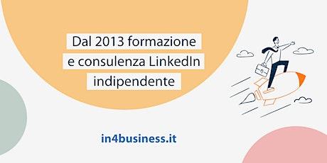 Corsi LinkedIn online | ottobre 2021 biglietti