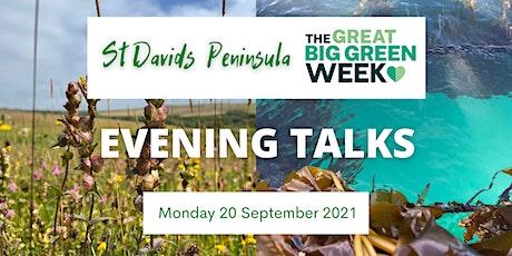 St Davids Great Big Green Week - Evening Talk: 1 tickets