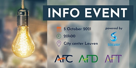 Info Event AFC, AFD, AFT tickets