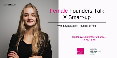 Female Founders Talk X Smart-up tickets