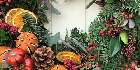 Christmas Wreath Workshop and Wine Tasting tickets