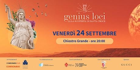 Genius Loci | Venerdì 24 settembre | Espinosa-Ninfa + Massini&Whisky Trail biglietti