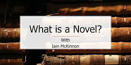 Creative Writing: What is a Novel & Is Genre Important? tickets