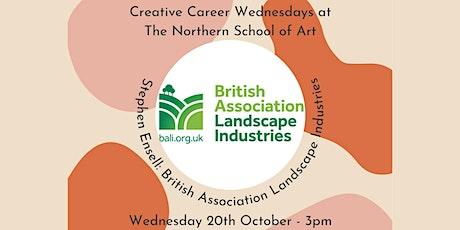 Industry Speaker: British Association Landscape Industries tickets