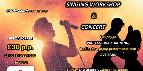 CHM 24th October 2021 Singing Workshop tickets