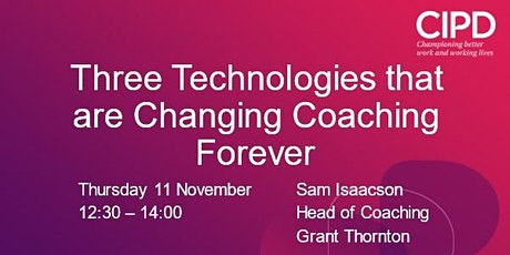 Three Technologies that are Changing Coaching Forever tickets