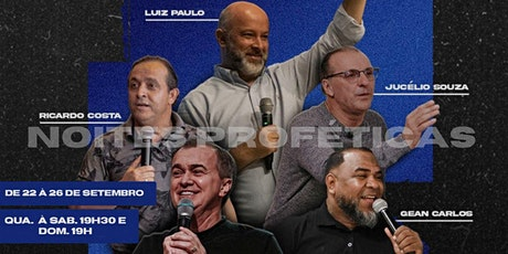 NOITES PROFETICAS - PROJETANDO KIDS - 25/09 ingressos