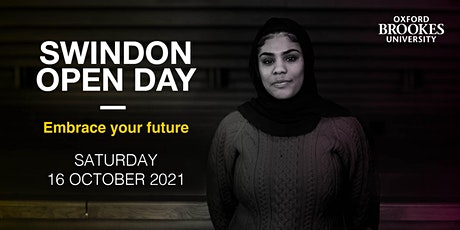 Oxford Brookes Open Day - Swindon - 16 October 2021 tickets