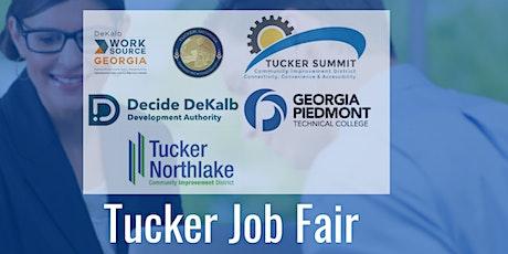 "Tucker ""Back to Work"" Job Fair (Registration Form for Job Seekers) tickets"