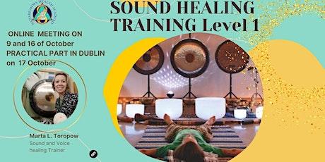 Sound Healing Training level 1 tickets