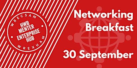 Wrexham Enterprise Hub Breakfast Networking Event (In person) tickets